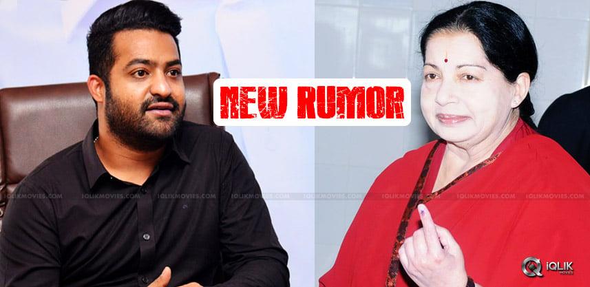 rumors-on-jr-ntr-jayalalithaa-meet-details