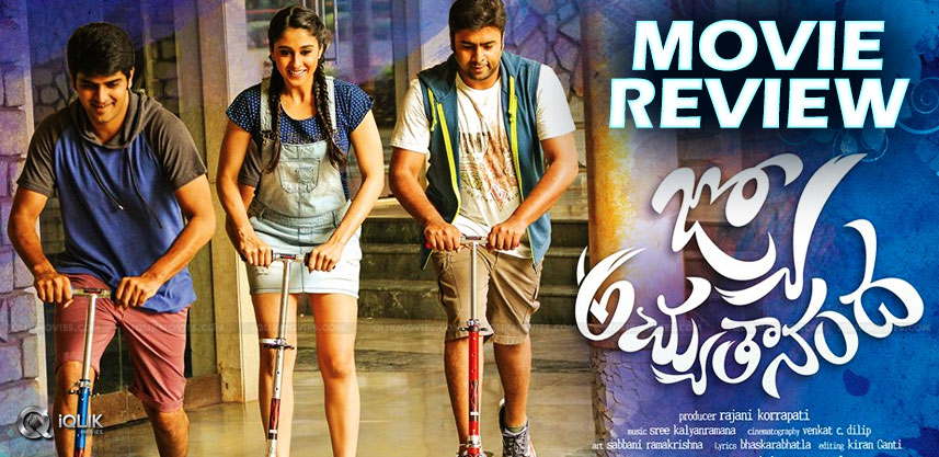 avasaralasrinivas-jyo-achyutananda-movie-review