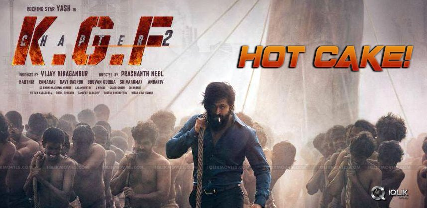 Kgf 2 Telugu Rights Record Price