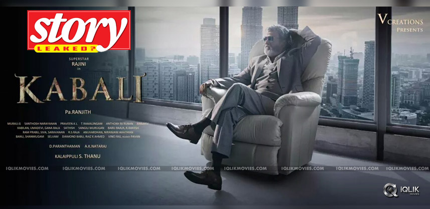 speculations-about-kabali-movie-story-leaked