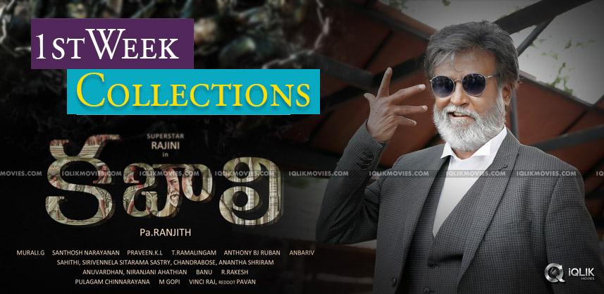 rajnikanth-kabali-first-week-collections-details
