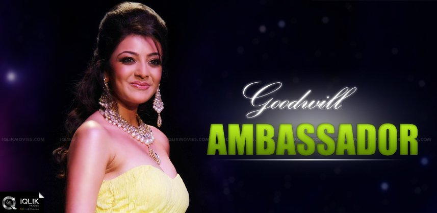 kajal-goodwill-ambassador-for-dexterity-global