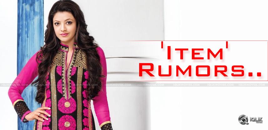 rumors-over-kajal-agarwal-special-song-in-dhruva