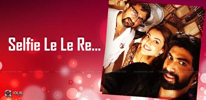rana-selfie-with-kajalaggarwal-teja-details