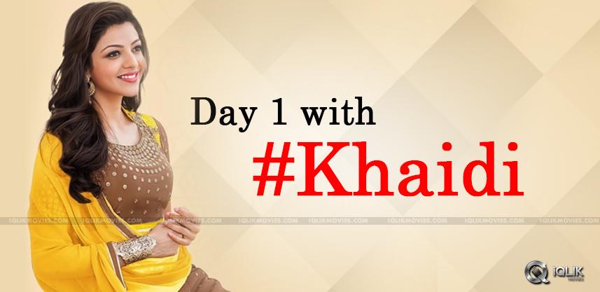 kajal-aggarwal-joins-the-shoot-of-khaidino150
