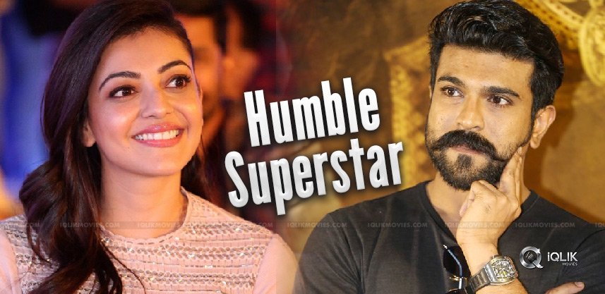 kajal-says-charan-humble-superstar