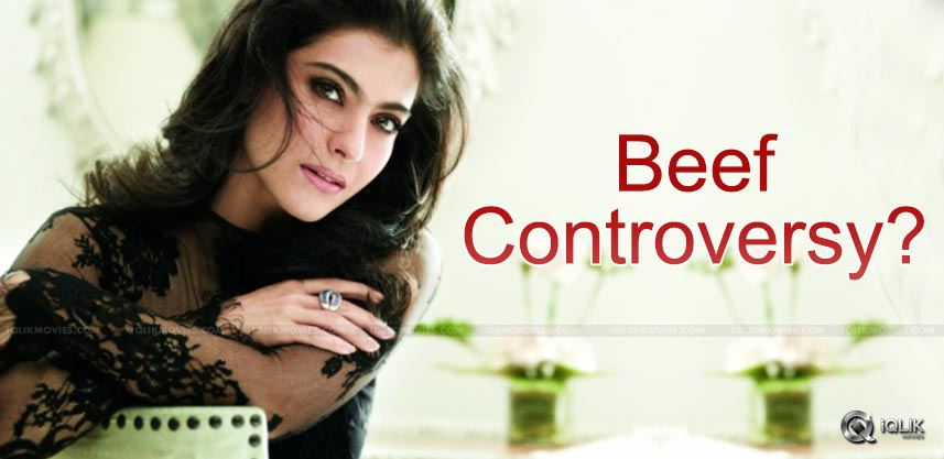 kajol-beef-buffalo-meat-controversy-details