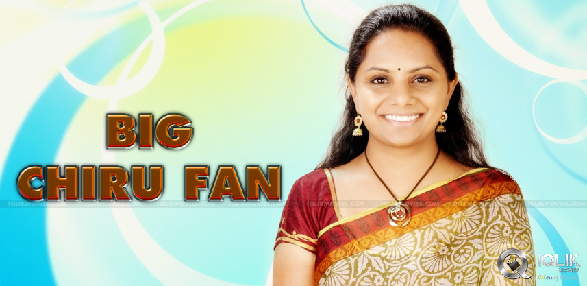 Kavitha-Kalvakuntla-is-fan-of-Chiranjeevi-video