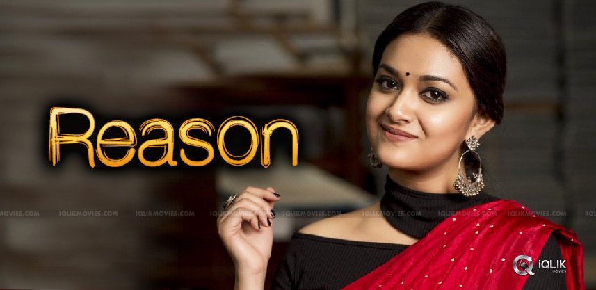 reason-for-weight-loss-of-keerthy-suresh