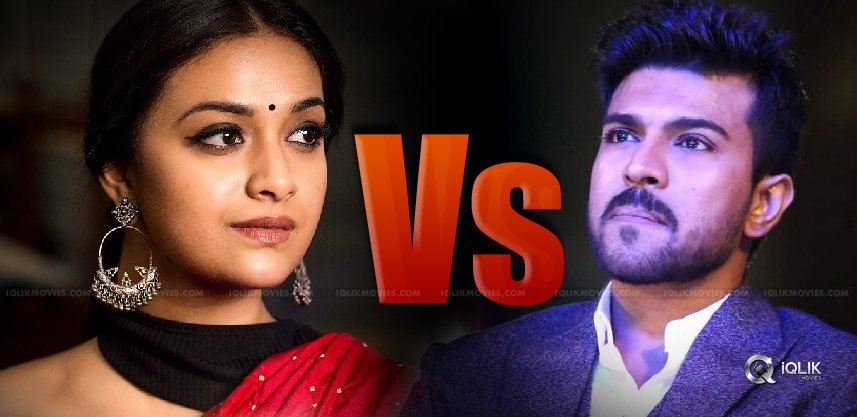contest-between-keerthy-suresh-and-ram-charan