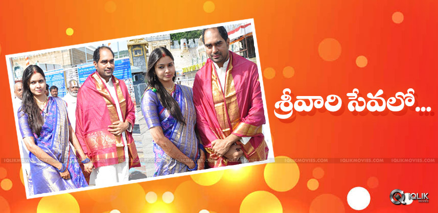 director-krish-ramya-at-tirumala-details