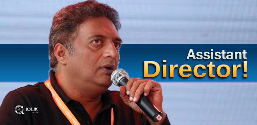 When-Prakash-Raj-Became-An-Assistant-Director