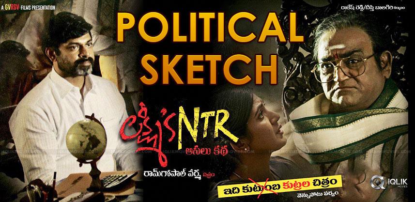 political-sketch-on-lakshmi-s-ntr-release