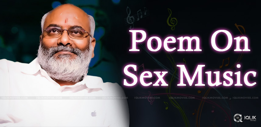Poem On Keeravani's Sex Music