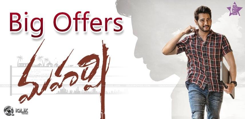 mahesh-babu-maharshi-movie-pre-release-business