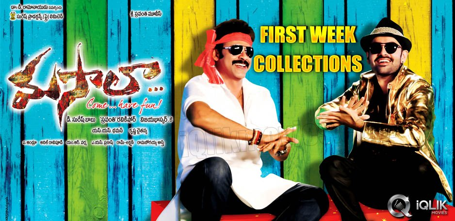 Masala-First-Week-Collections