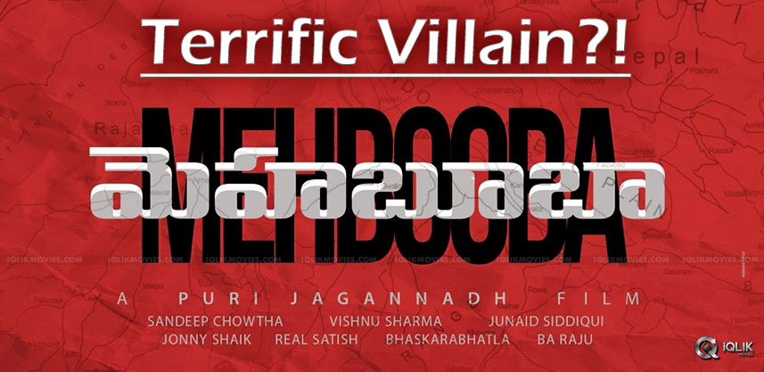 mehbooba-movie-villain-details