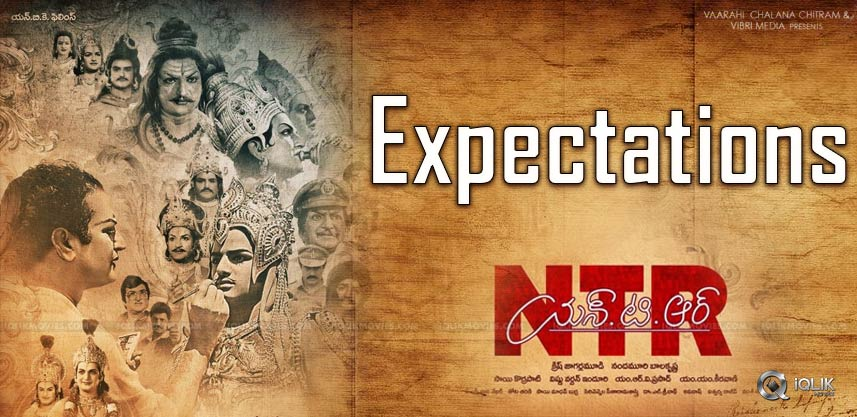 NTR Biopic: Expecting To Be All Time Industry Hit