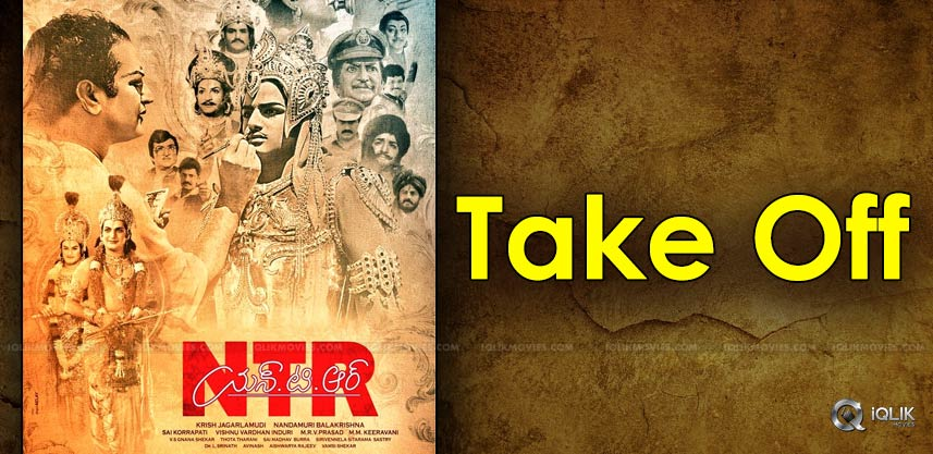 ntr-biopic-shooting-take-off-details