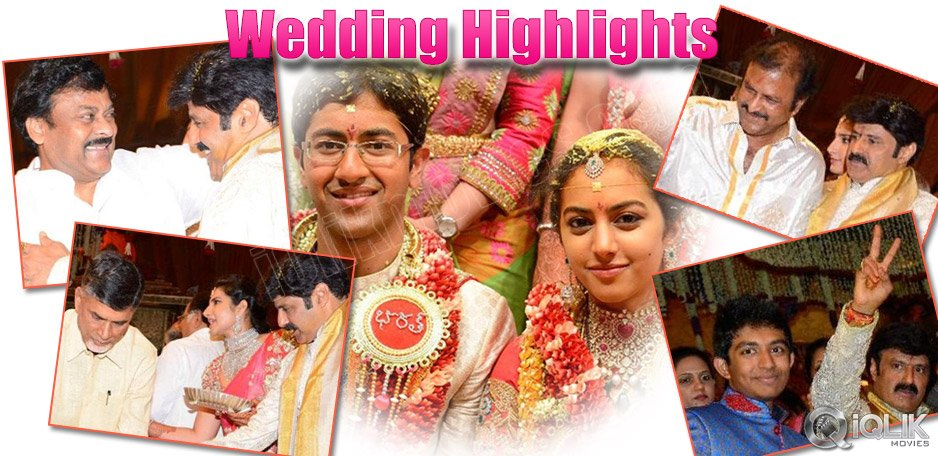 Nandamuri-Tejaswini-Grand-Wedding-Highlights