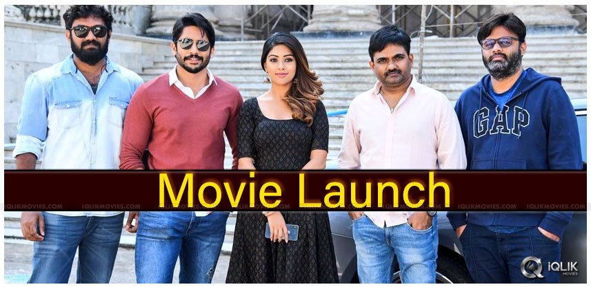 Chaitanya-Anu Emmanuel's Movie Gets A Start