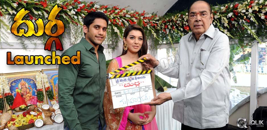 Naga-Chaitanya039-s-new-film-039-Durga039-launched