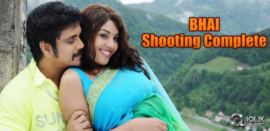 Nagarjuna039-s-Bhai-shooting-complete
