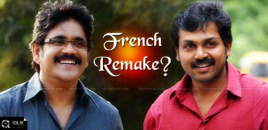nagarjuna-karthi-movie-is-a-french-remake