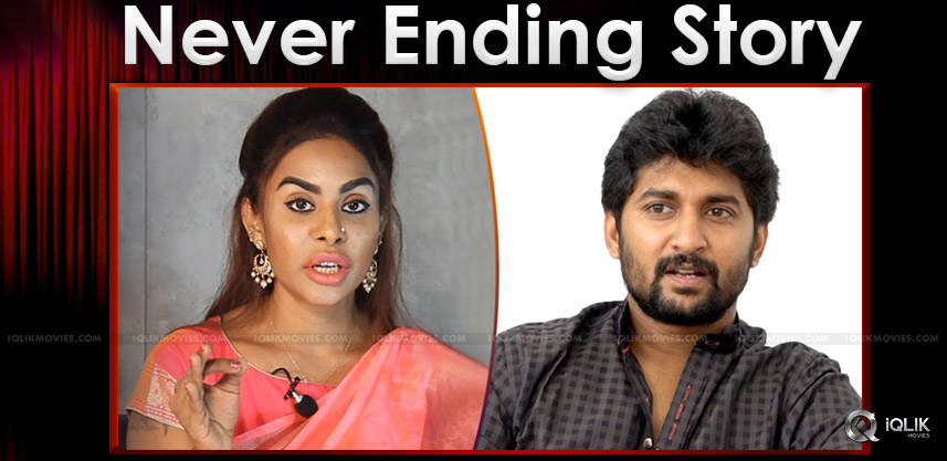 Sri Reddy Attacks Nani Again!