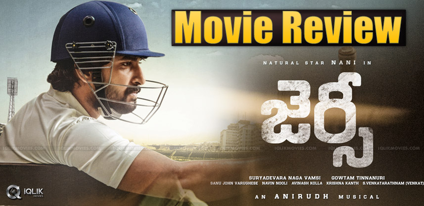 Nani's Jersey Movie Review And Rating