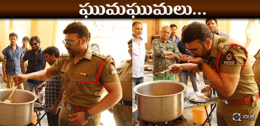 nara-rohit-cooks-fish-curry-at-shooting