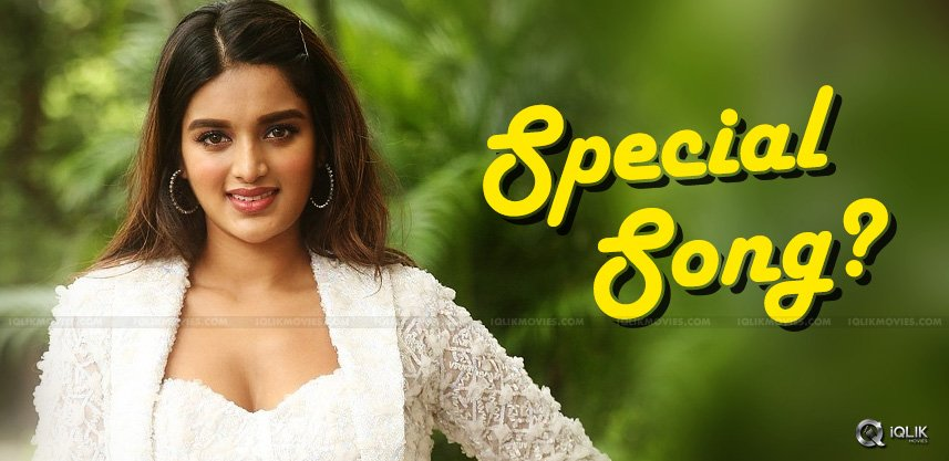 niddhi-agerwal-special-song