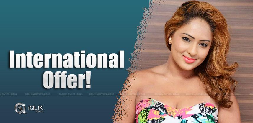 Nikesha-patel-to-make-hollywood-debut