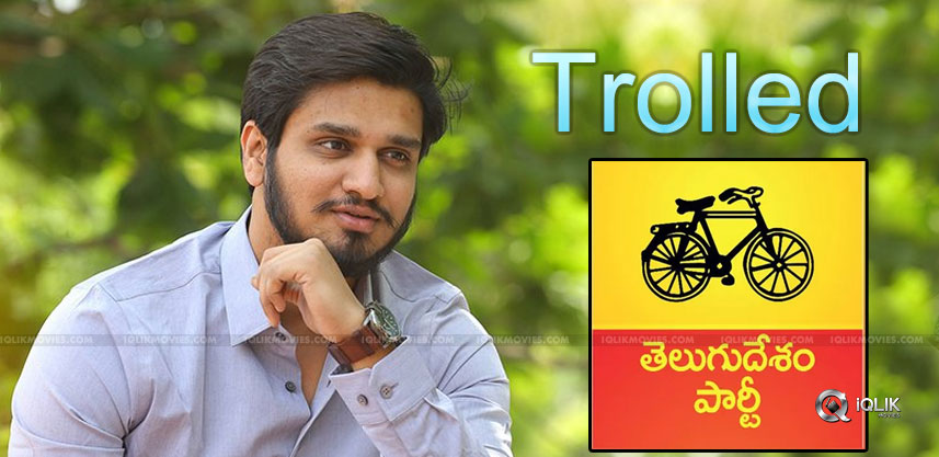 nikhil-gets-trolled-for-supporting-tdp