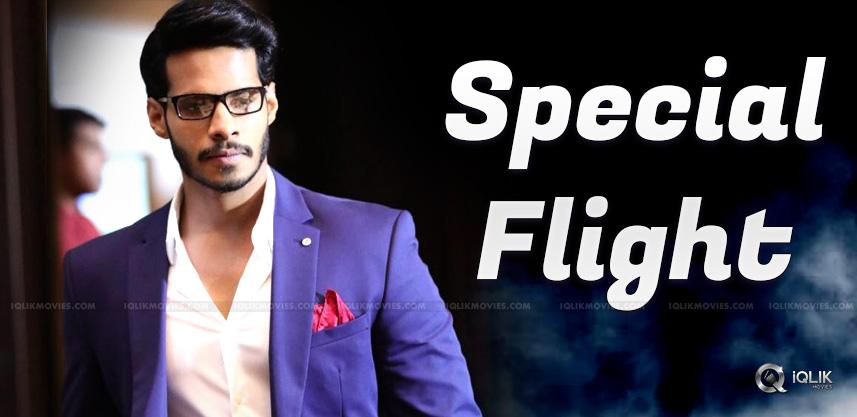 nikhil-gowda-charter-flight-to-siima