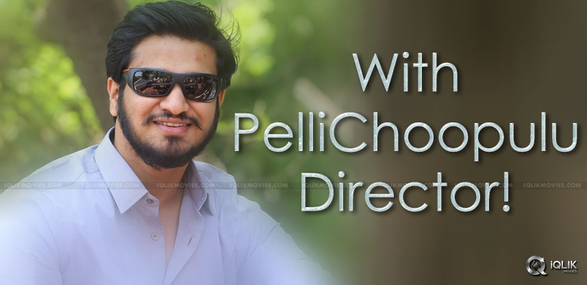nikhil-with-pellichoopulu-director-tharun