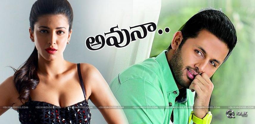 nithiin-with-shrutihassan-in-hanuraghavapudi-film