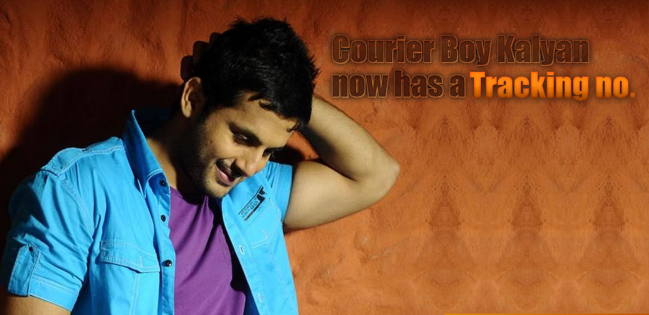 Nithin-resumes-Courier-Boy-Kalyan-shoot-