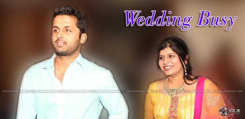 actor-nitin-busy-in-sister-nikitha-reddy-wedding