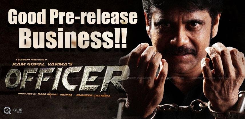 nagarjuna-officer-pre-release-business-details-