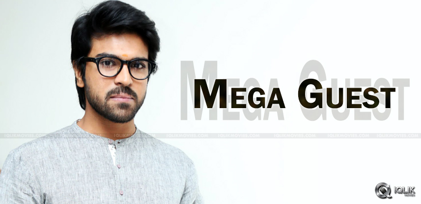 ram-charan-chief-guest-for-oka-manasu-audio