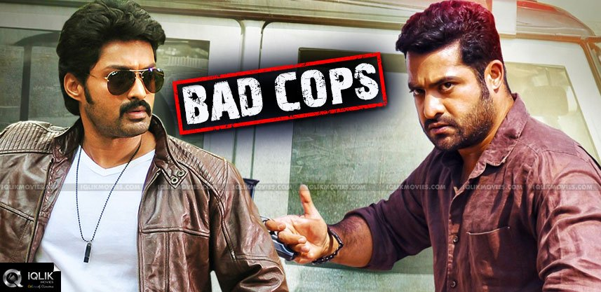 ntr-and-kalyanram-are-police-in-temper-and-pataas