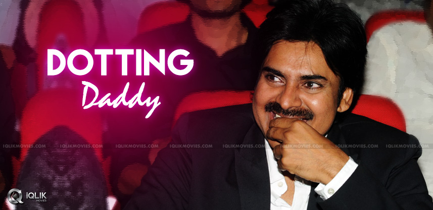 pawan-kalyan-daughters-in-sardaar-shooting