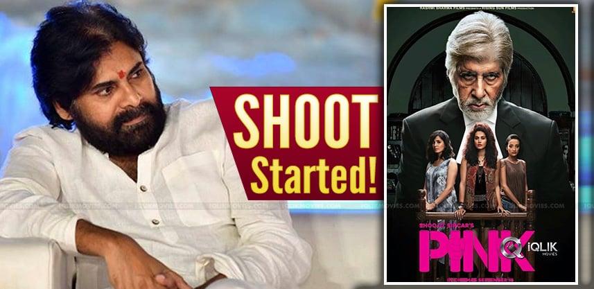 Pink Remake Starts, What About Pawan?
