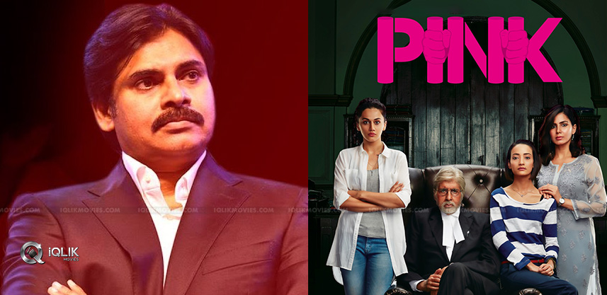 Pink Remake, Pawan Into Action!