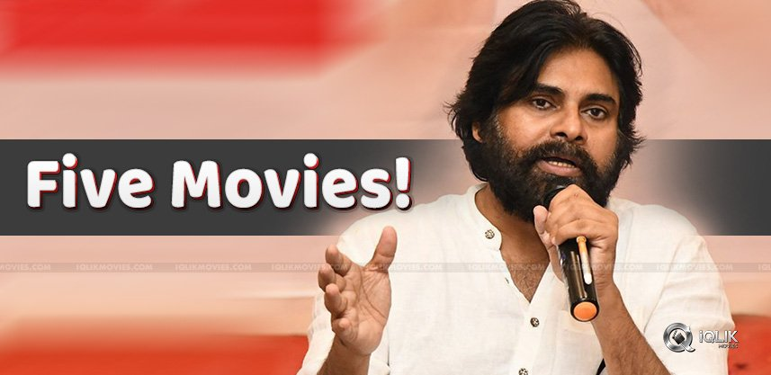 Pawan-Kalyan-To-Do-Five-Movies-In-A-Row