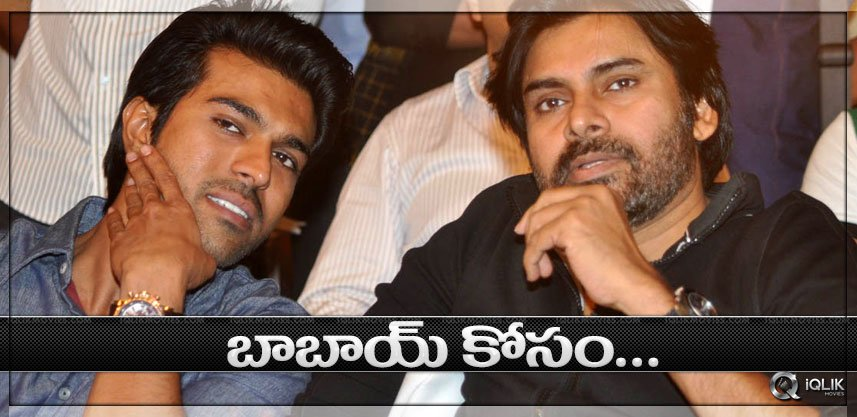 Charan makes way for Babai
