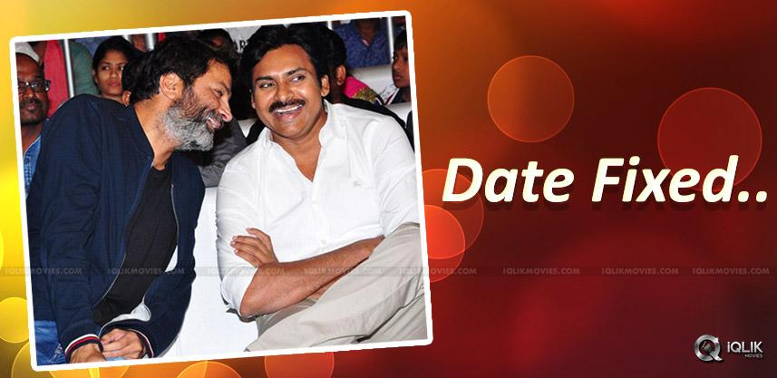 pawan-trivikram-movie-launch-date