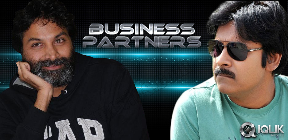 Pawan-Kalyan-and-Trivikram-turn-Business-Partners