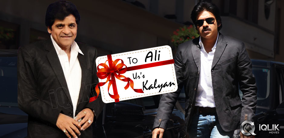Pawan-Kalyan-gift-to-comedian-Ali